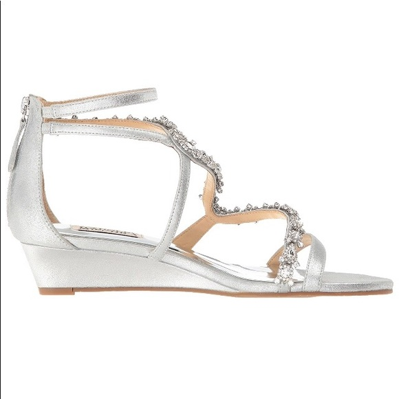 503bd242551 Badgley Mischka Belvedere Embellished Wedding Shoe